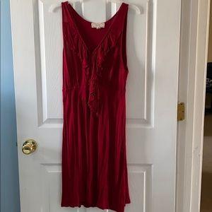 XL Pink Rose Dress
